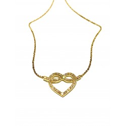 Collier Ceur Or Jaune